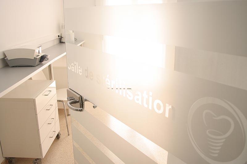 Hygiène et asepsie - salle de stérilisation